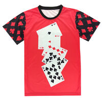 Playing Cards Red & Black T-shirt [fresh dope unique graffiti poker hipster]