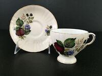 vintage Royal Grafton fine bone china cup & saucer 1940's 1950's England