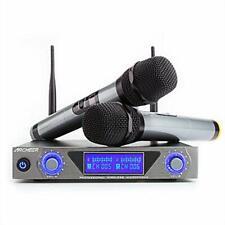 Microfonos Inalambricos Profesionales Professional Recargables Presentadores+Lcd