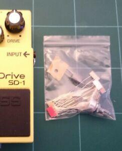 """Boss Super Overdrive SD-1 """"Tube Screamer"""" Modification Kit"""