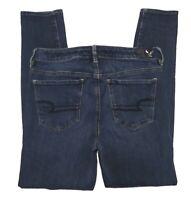 American Eagle Hi-Rise Dark Jegging 360° Super Stretch Jeans Size 10 Regular