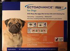 Flea & Tick Control For Dogs 4-22 Lbs -EctoAdvance Plus