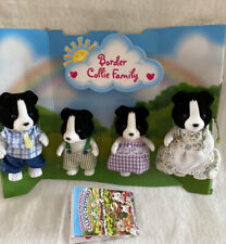 Calico Critters Border Collie Family Set of 4 Dogs 2015