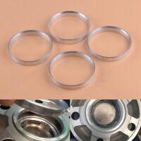 4 Aluminium Spigot Rings 67.1mm - 64.1mm Wheel Spacer Wheel Hub Centric