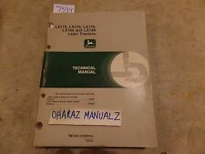 John Deere LX172 LX176 LX178 LX186 LX188 Lawn Tractor Technical Manual TM1492