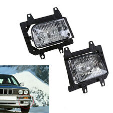Pair Of Front Bumper Clear Fog Light Lamp Fits For BMW E30 318i 318is 325i 85-93