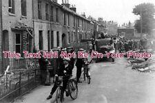 KE 405 - WW2 Bombing, Gladstone Road, Deal, Kent 1940 - 6x4 Photo