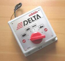 MÄRKLIN 6604 DELTA-Control Steuergerät H0 Digitale Steuerung Fahrregler Regler 4
