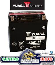 BATTERIA MOTO YUASA YTX14-BS 12V 12Ah KYMCO XCITING I 500 2006 2007 2008