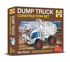 DUMP TRUCK CONSTRUCTION SET 190 PIECE HAYNES STAINLESS STEEL SYSTEM Meccano Like