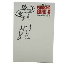 The Working Girls's Doodle Memo Pad/ Notes