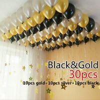 30PCS 10'' Latex Balloon Wedding Birthday Party Decoration Baby Shower Supplies