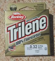 Fluorocarbon Berkley Trilene Leader 50 metri - 0.32 - 8Kg