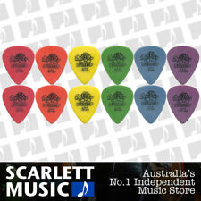 12 X Jim Dunlop Tortex Standard MIXED Guitar Picks Starter Set *BRAND NEW*
