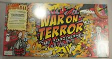 War on Terror The Boardgame - TerrorBull Games New / Sealed 2006 First
