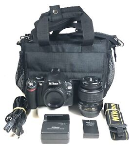 Nikon D40X camera with ED 18-55mm f3.5-5.6GII lens 87% condition