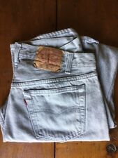 Vintage Levis Blue 501xx Made In Usa 501-0657 36w 30l