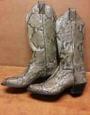 Sale! Vintage JUSTIN FULL PYTHON Cowboy Boots Womens size 5-1/2 B