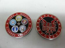CHALLENGE COIN DRIFIRE FLAME RESISTANT CLOTHING MILITARY SERVICE ARMY USAF USN U