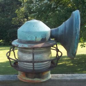 Vintage Copper Porch Light