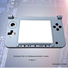 Nintendo 3DS XL Gehäuse Unterteil in weiss  **NEU**
