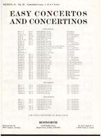 Rieding: Concertino Für Violine E Klavier op.25 - Bosworth