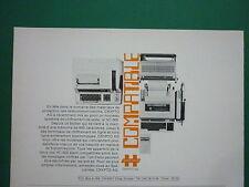 4/79 PUB HAGELIN CRYPTOS HC-500 SYSTEME CHIFFREMENT TEXTE CRYPTOGRAPHY FRENCH AD