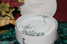 4 Lenox Marchesa Floral Illustrations Tidbit Plates New in Box Free Shipping