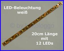 S333 - 1 Piece LED lighting 20CM White for E.G. Train Platform Houses Wagons etc