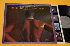 B.B. KING LP ANTOLOGIA DEL BLUES FRANCE PRESS TOP EX+ AUDIIOFILI JAZZ BLUES