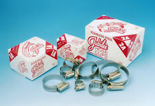 JUBILEE HOSE CLAMPS SIZE 0 / BS22 BOX OF 10 STAINLESS STEEL JAGUAR XK120 XK140