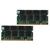 2 X1GB PC2700 DDR333 Non ECC 200-Pin Memory CL2.5 Portatil (SODIMM) (RAM) F2L6