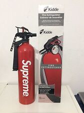 NEW Supreme Fire Extinguisher Kidde Red White Box Logo SS15