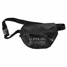 """ALPHA INDUSTRIES Bauchtasche """"Cargo Oxford Waist Bag""""   Black (10191803)"""