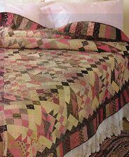 Raspberry Truffles Quilt Pattern Pieced CB