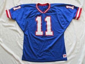 Vtg Wilson NFL New York Giants Phil Simms # 11 Jersey Size XL 80s 90s Nice!