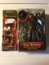 Neca1 Pirates of Caribbean: Dead Mans Chest Series 3 Action Figure Capt.Barbossa