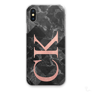 Personalised Phone Case, Pink Print Hard Cover For Apple Iphone 11 with Initials