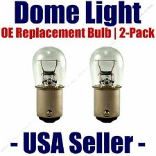 Dome Light Bulb 2-Pack OE Replacement - Fits Listed Pontiac Vehicles - 1004