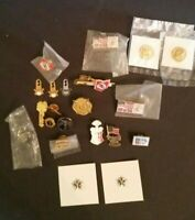 PIN LOT Misc Organizations Military Firemen Assoc UMWA Toys For Tots, Lions