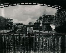 PARIS 1900 - Ecluse sur le Canal St Martin - DIV1644
