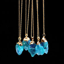 Quartz Gemstone Titanium Costume Necklaces & Pendants