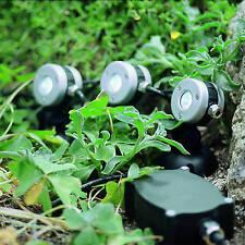 Oase LunAqua Mini LED 3 neutralweiße LED-Leuchten im Set Licht Garten 50512