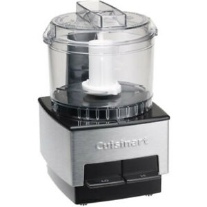 Cuisinart DLC-1SSFR Mini-Prep Food Processor, Brushed Metal