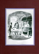 Chas Addams ADDAMS FAMILY - 'YOU FORGET EYE OF NEWT' PROFESSIONALLY MATTED PRINT