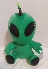Green Plush Alien A&A Global Industries Mohawk Stuff Toy