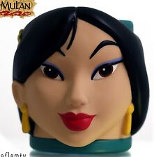 Mulan NEW Figural Cup 3D Mug From Disney Vintage Rare By Applause