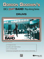 Gordon Goodwin's Big Phat Band Play-Along Series: Drums Drum Book & CD 25256
