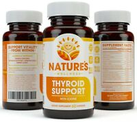 Thyroid Support Complex w/ Iodine - For Energy Levels, Weight Loss & Metabolism