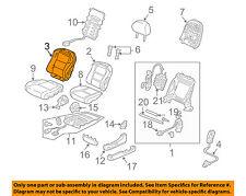Acura HONDA OEM 04-06 TL Front Seat-Cushion Cover-Top Back Left 04815SEPA00ZC